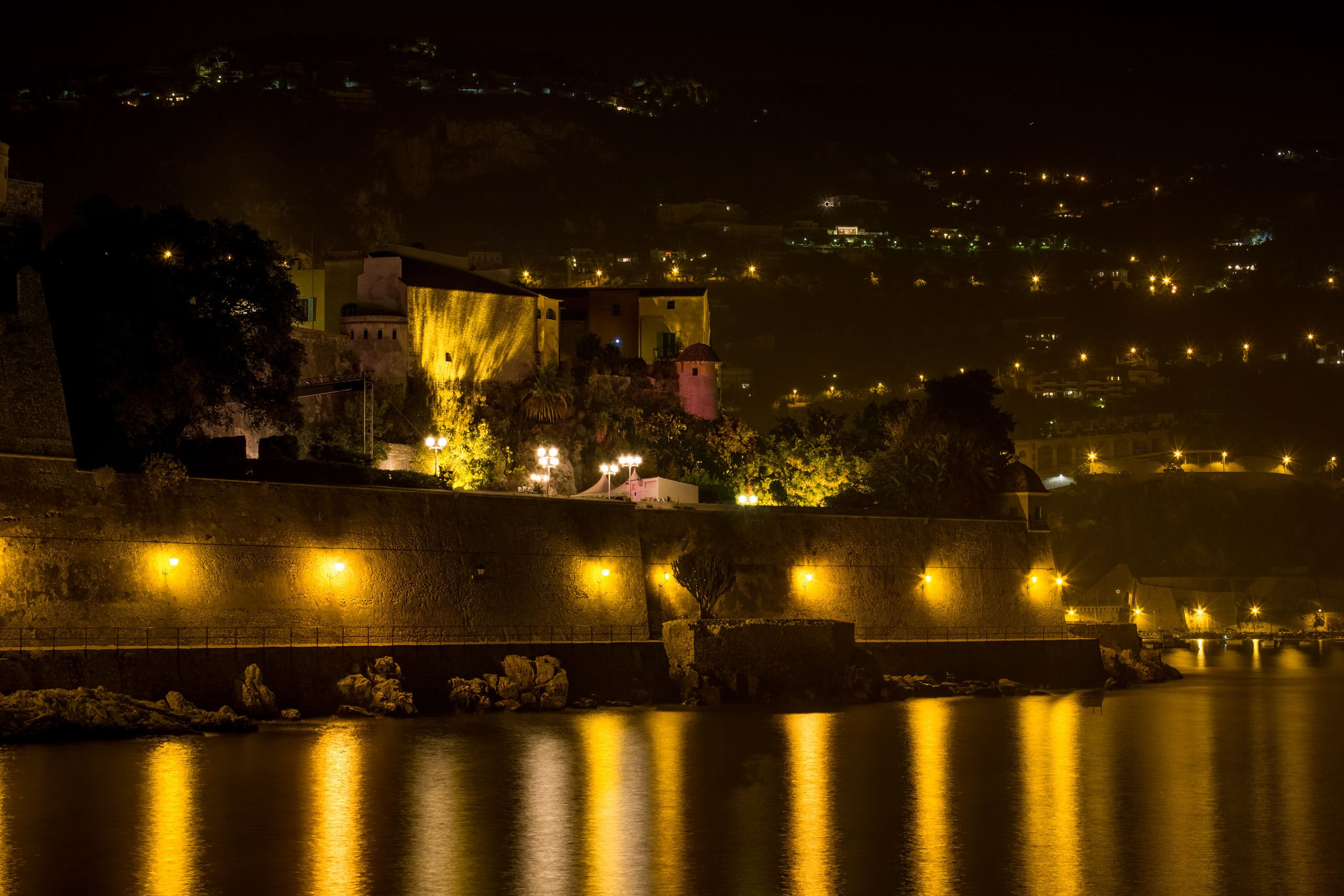 The citadel in Villefranche