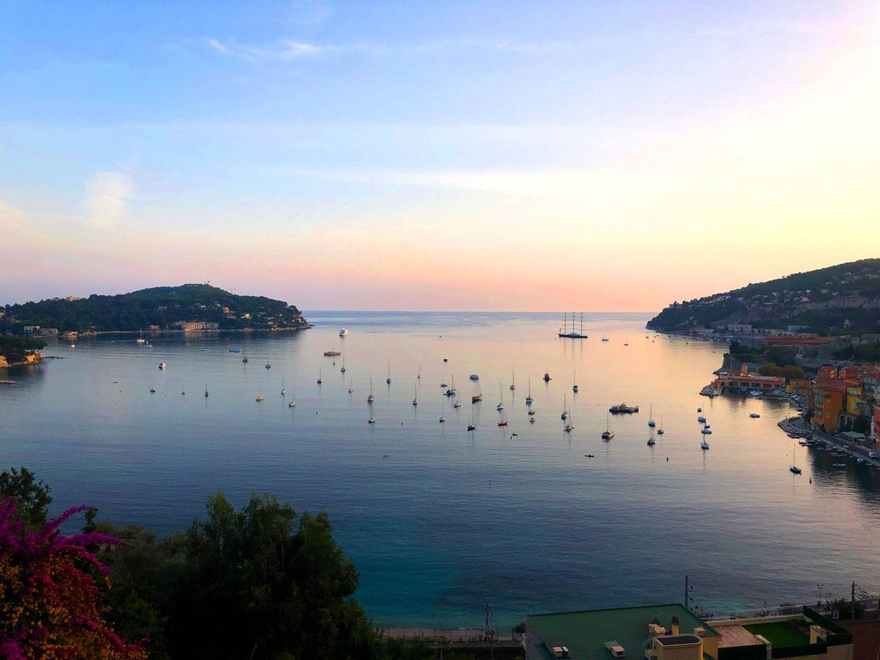 Swimming in the Bay of Villefranche